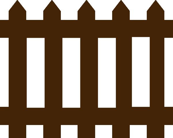 Brown clipart gate Fence Gate  Clip Clipart