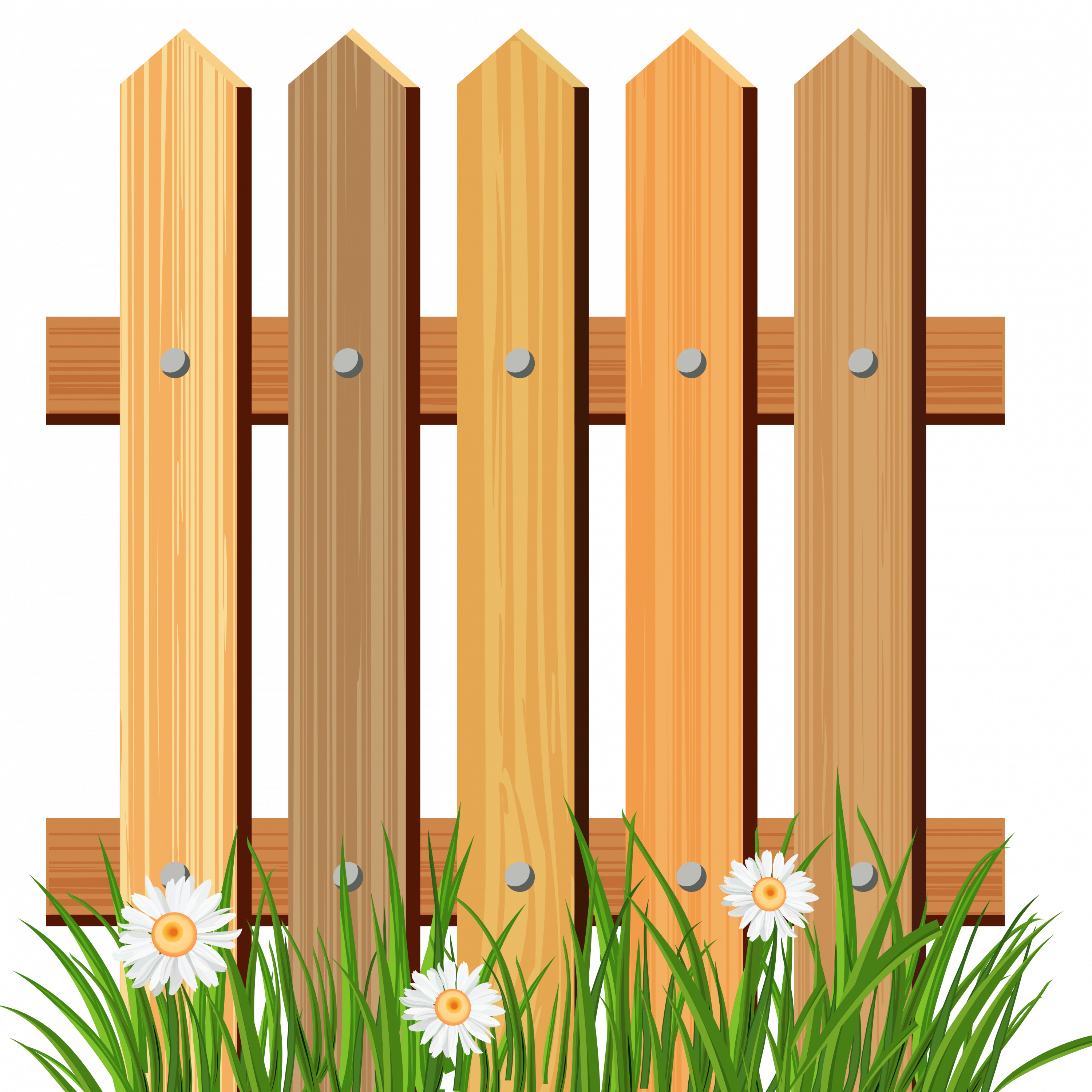 Gate clipart flower bed Art Fence Free Free on
