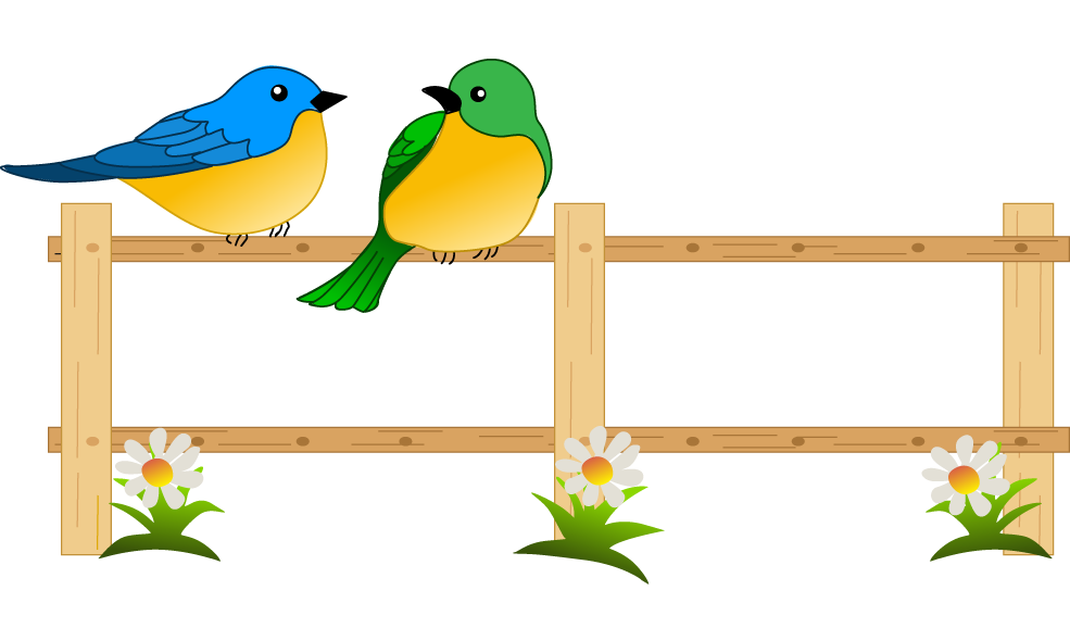 Fence clipart child garden #1