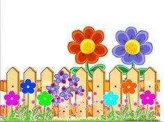 Gate clipart garden border Com Clipart Garden Clipart Fence