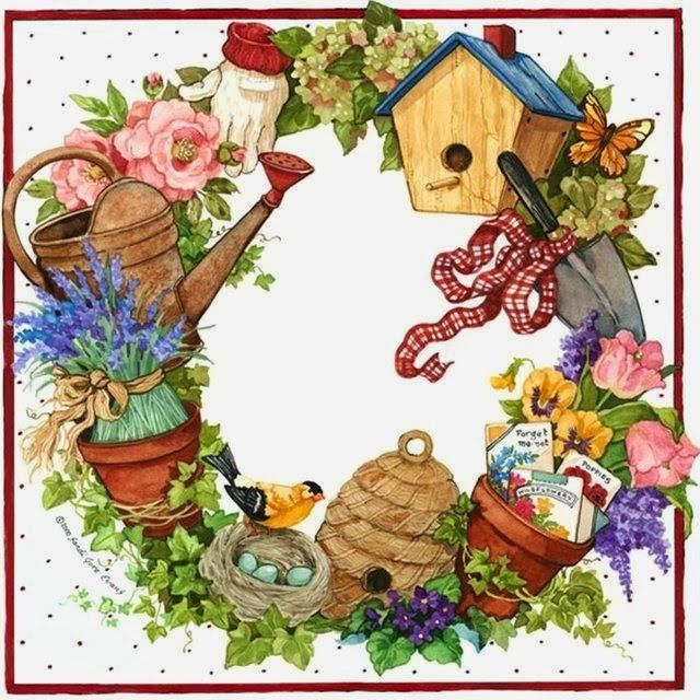Gate clipart garden club Best Pinterest garden vintage ClipartMarjolein