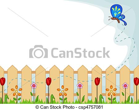 Wood clipart garden background Clipart clipart Floral at Garden
