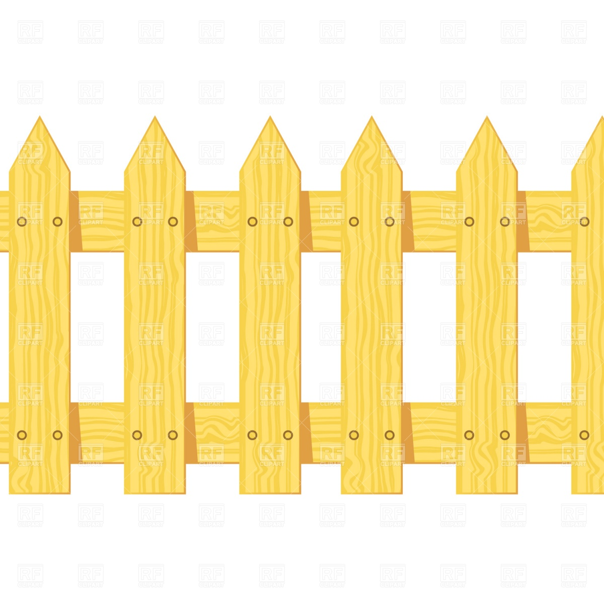 Yellow clipart fence Fence Clip Savoronmorehead Fence collection