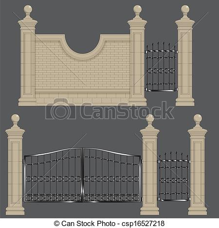 Gate clipart garden frame Of of gate Clipart Garden