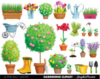 Gate clipart garden frame Etsy clipart and Flowers Tool