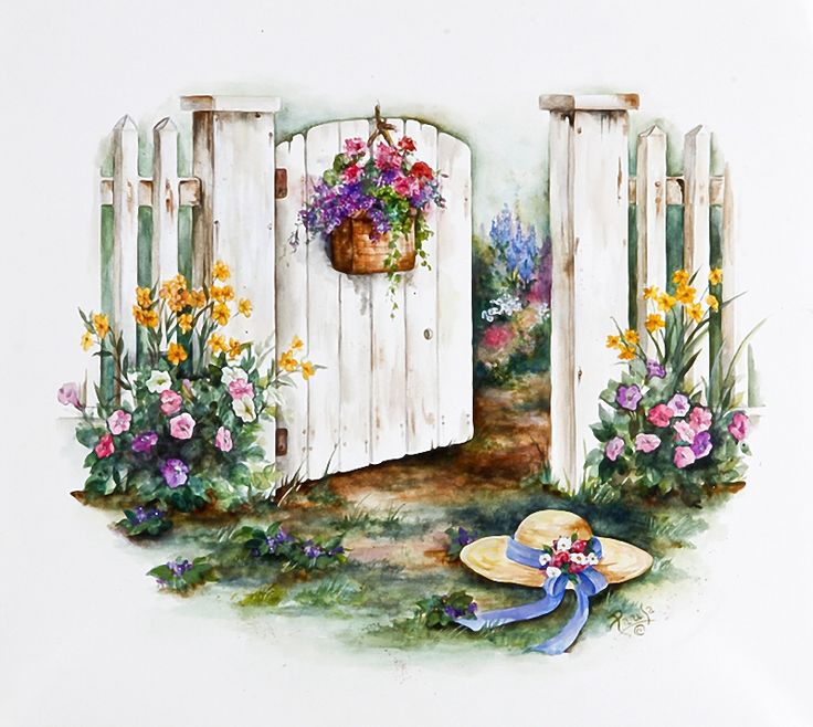 Gate clipart garden shed Gate❤ Pinterest ❤️Garden this on