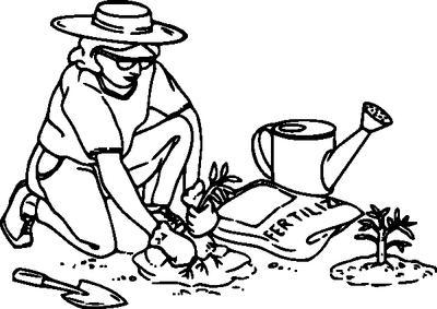 Gate clipart gardener On Free Art Clipart Free