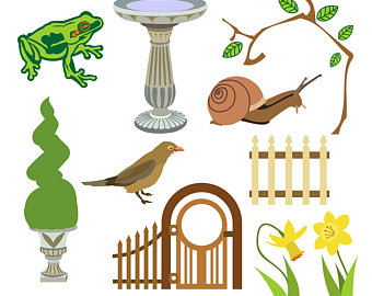 Gate clipart gardener By Art Tags Daffodil Frog