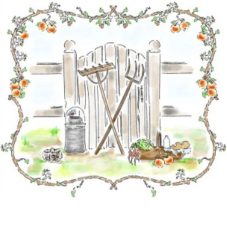 Gate clipart gardener Comfort sufficiency of the grow