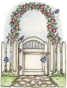 Gate clipart gardener  web and Albums secret