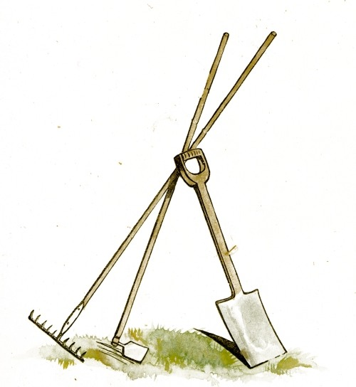 Needless clipart tool Gardening Tools free is Clip
