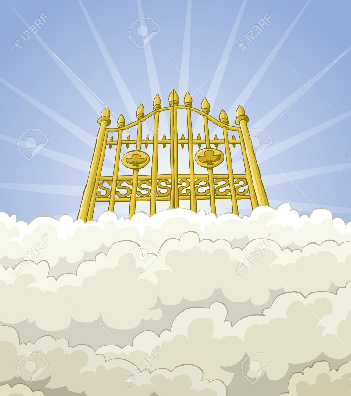 Gate clipart god Pearls heavens of Heals God