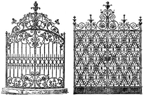 Gate clipart gothic Victorian Cliparts Zone Gate Cliparts