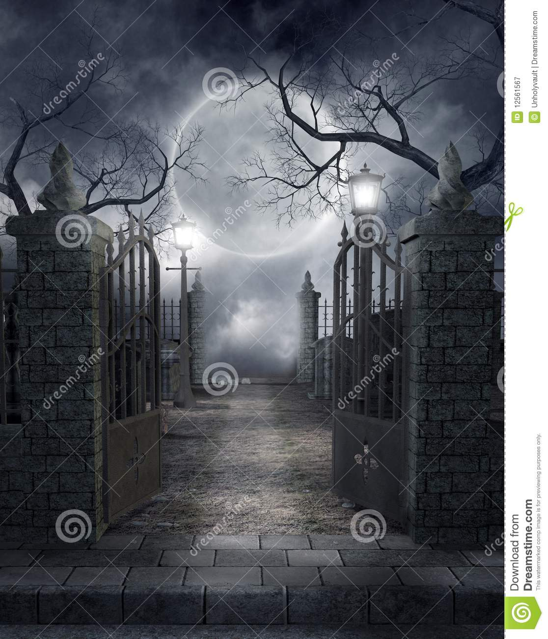 Gate clipart gothic Gothic Clipart Graveyard Gothic cliparts