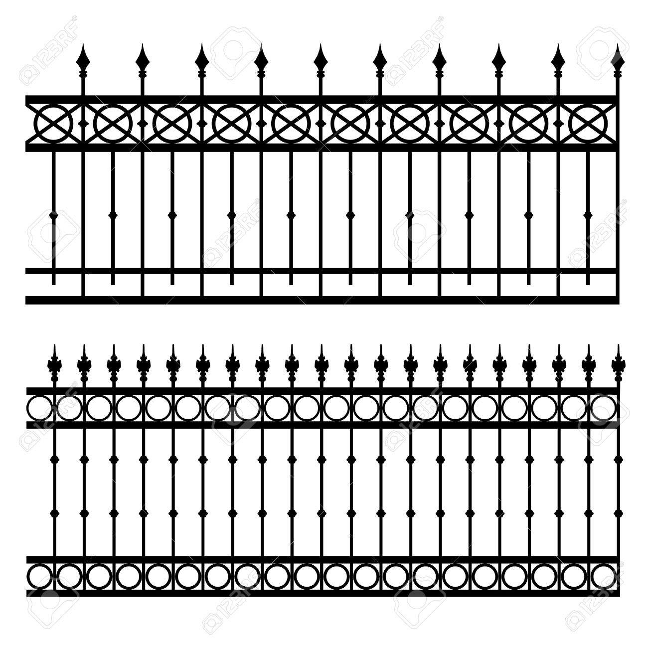 Gate clipart gothic 17513848 17513848 vector Image illustration