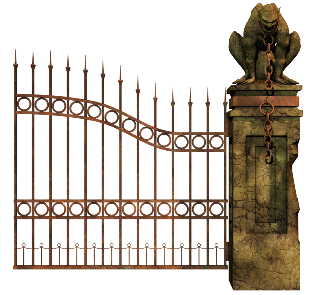 Gate clipart graveyard PNG HD PNG Gate Mart