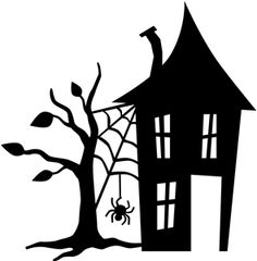 Gate clipart haunted house Outline Pin for Projects printable