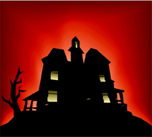 Haunted clipart scare Houses Halloween in  Falls
