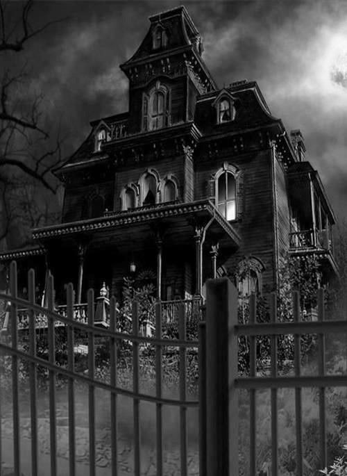 Gate clipart haunted house Pin Haunted all on kinds