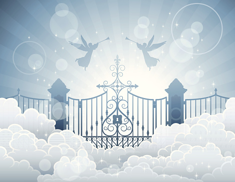 Gate clipart heavenly gate Clipart Art Heaven Of This