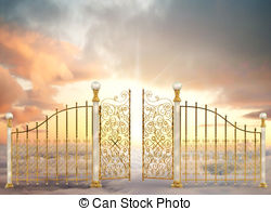 Gate clipart heavenly gate To gates and Landscape Gates
