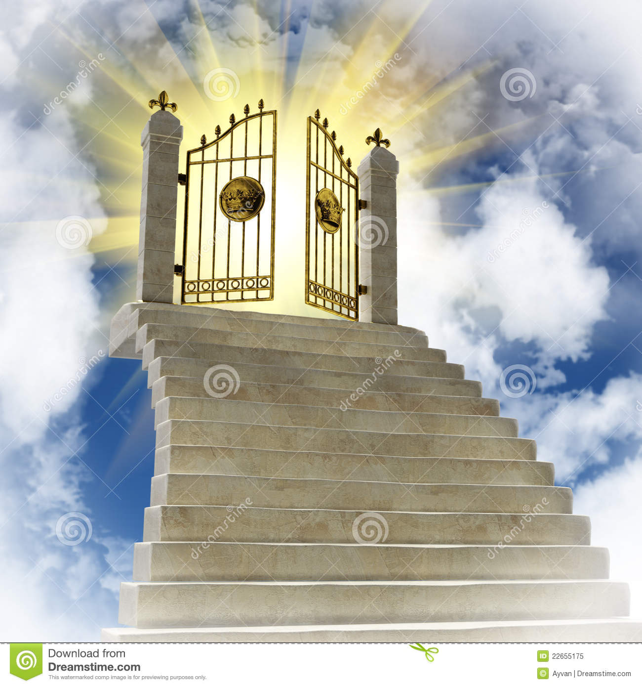Places clipart heaven Of Heaven In Gates Of