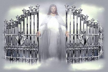 Gate clipart heaven's gate Entering  scriptures Christian 22:8