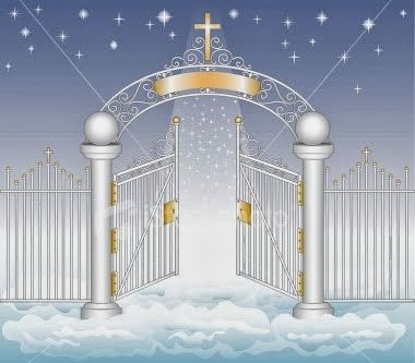 Gate clipart heaven's gate GATE Jesus of a at