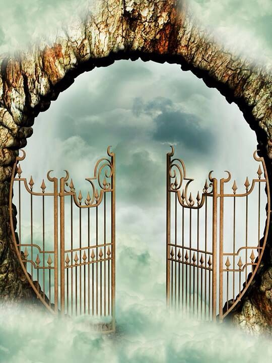 Gate clipart heaven's gate HEAVEN'S 110 images Pinterest GATE