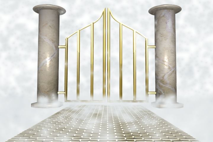 Heaven clipart golden gate Free Heavens Clip Free Gates