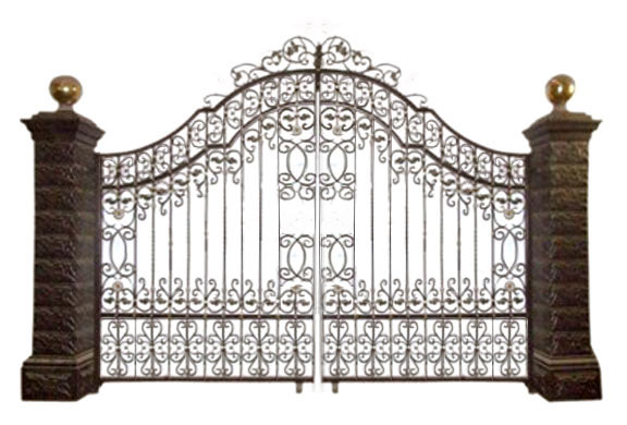 Gate clipart iron gate  on Download Clip Free