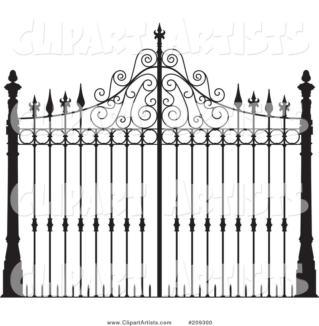 Gate clipart iron gate 8 jpg clipart Clipground iron