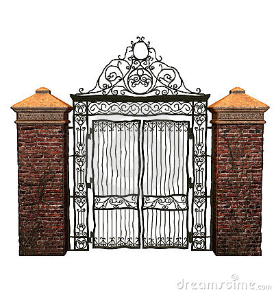 Gate clipart iron gate Collection Iron Clipart iron gate