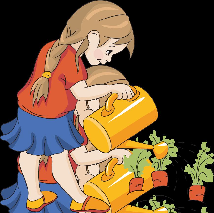 Boy clipart gardening Garden Tavasz/Spring collection clipart Clip