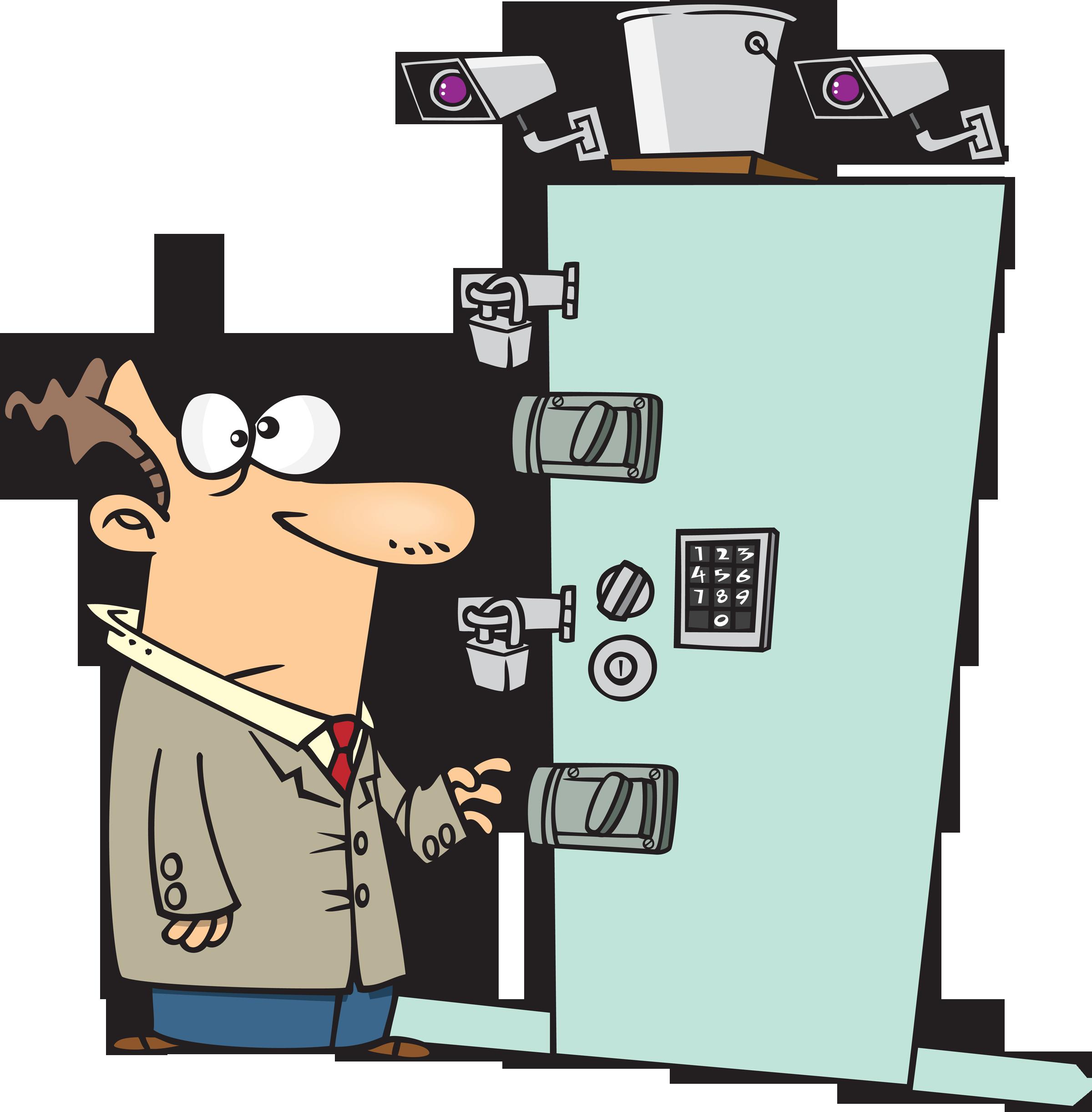 Lock clipart vintage Clipart Zone Security Lock door