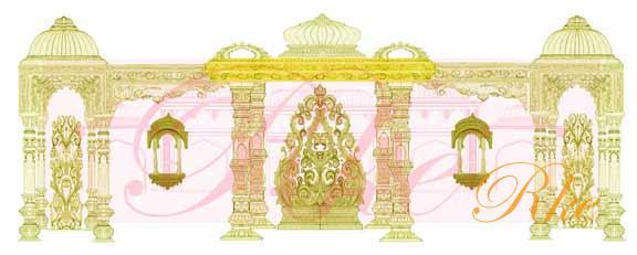 Gate clipart mandap Design Mandap 63 Mandap Wedding