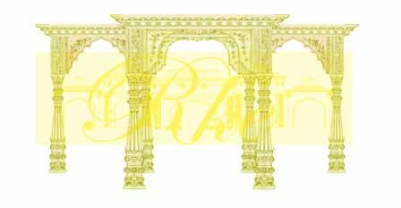 Gate clipart mandap Mandap Design from Exporter Design