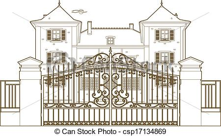 Mansion clipart castle gate Mansion%20clipart Art Panda Clip Free