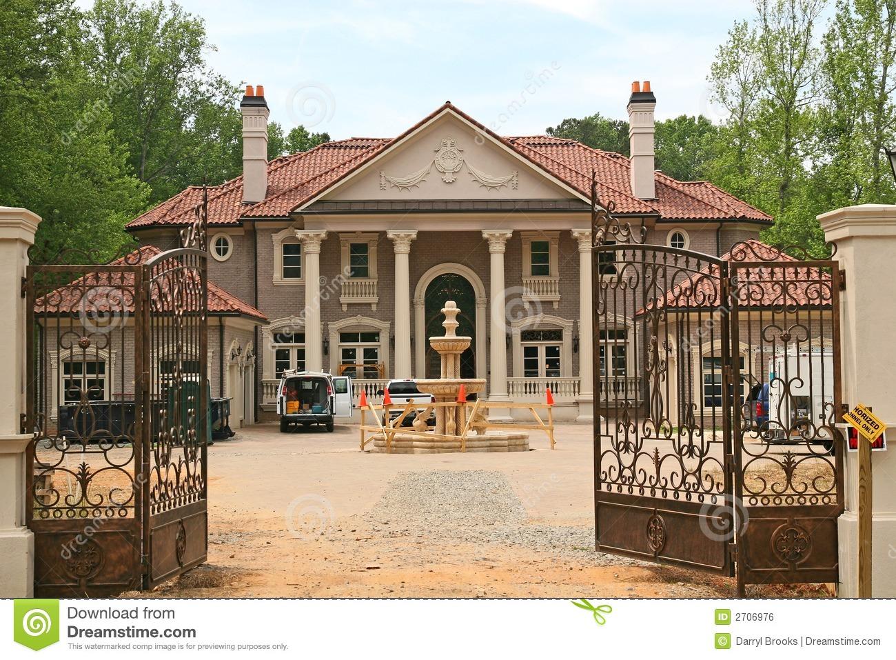 Gate clipart mansion Mansion%20clipart Clipart Images Panda Mansion