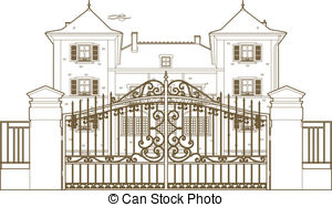 Mansion clipart castle gate Mansion Savoronmorehead Clipart Clipart 576
