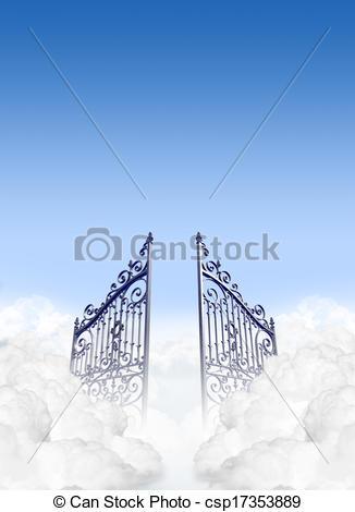Heaven clipart heaven's gate In Clouds csp17353889 Heavens of