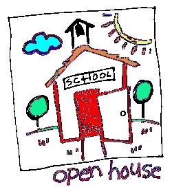 Gate clipart open house 3rd Elementary Kennedy PM; GATE