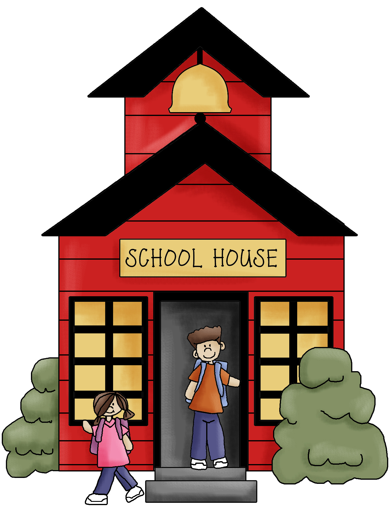 Gate clipart open house Clip School And House school%20house%20clip%20art%20black%20and%20white
