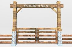 Gate clipart open house Clipart Ranch Clipart Gate Download