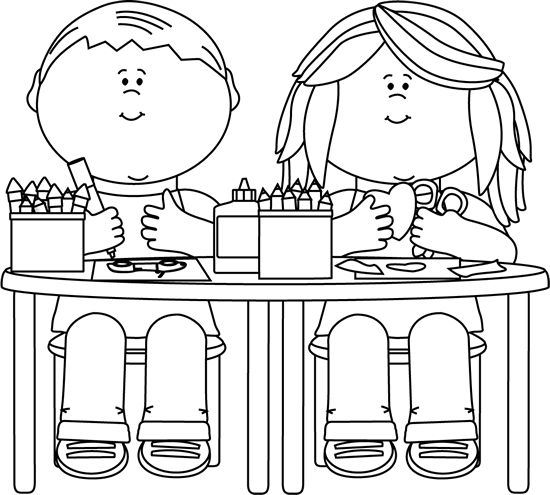 Desk clipart cute student Kids learning 5 Kids daily