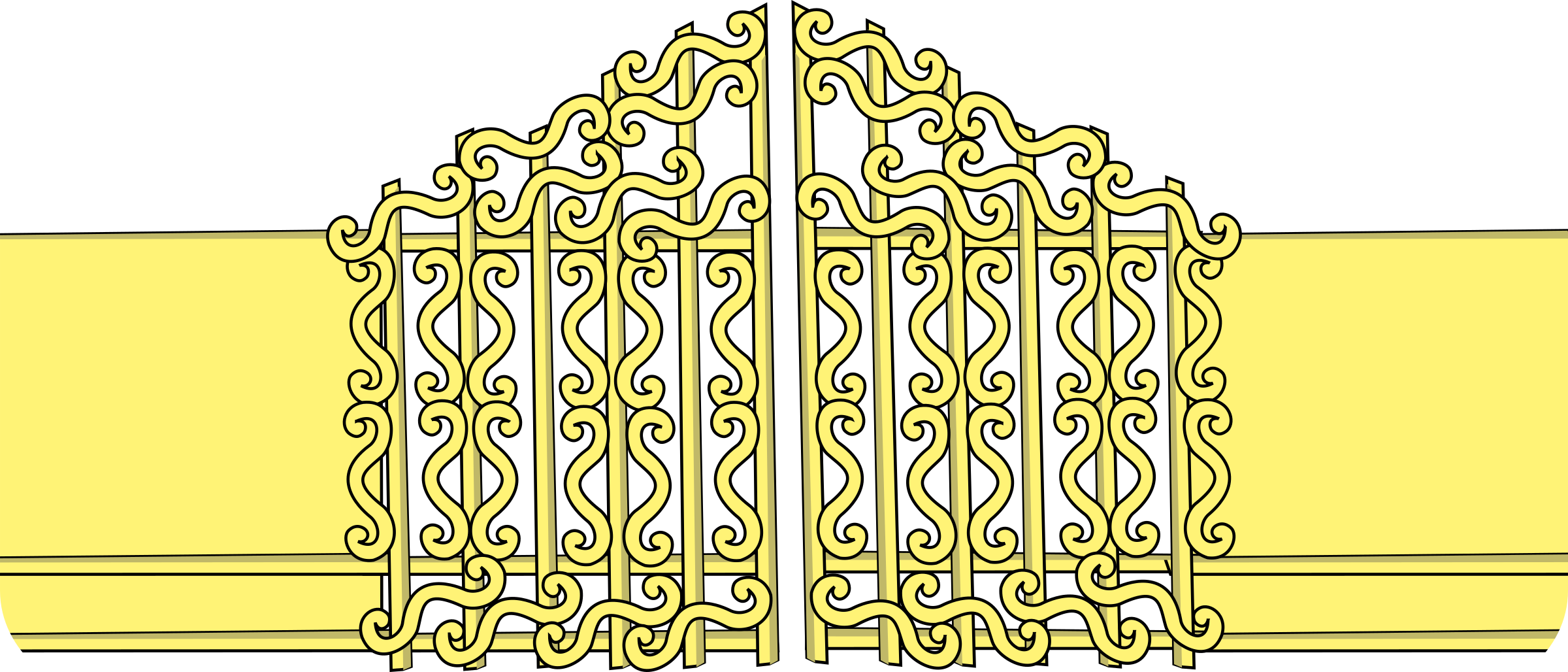 Heaven clipart pearly gates Clipart Gates Pearly Gates Pearly