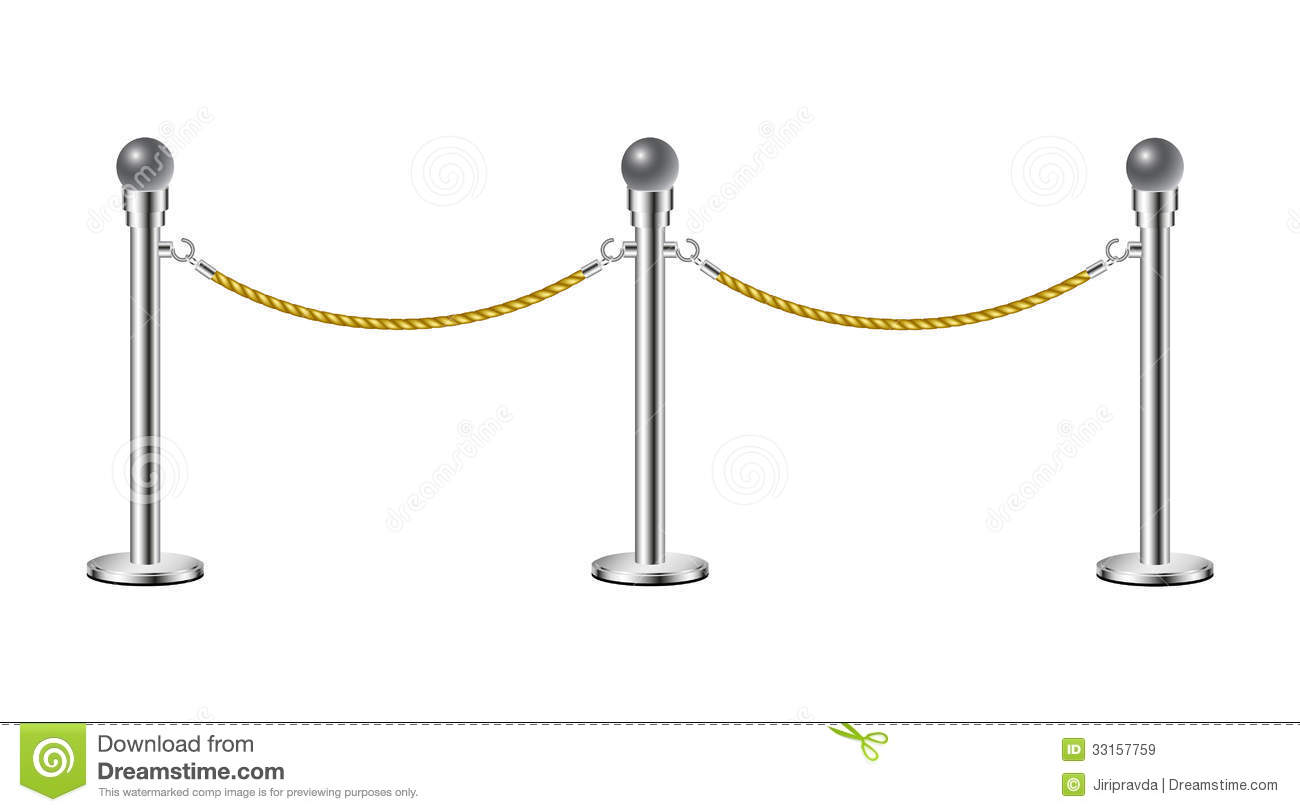 Gate clipart rope Barrier rope Gate Clipart clip