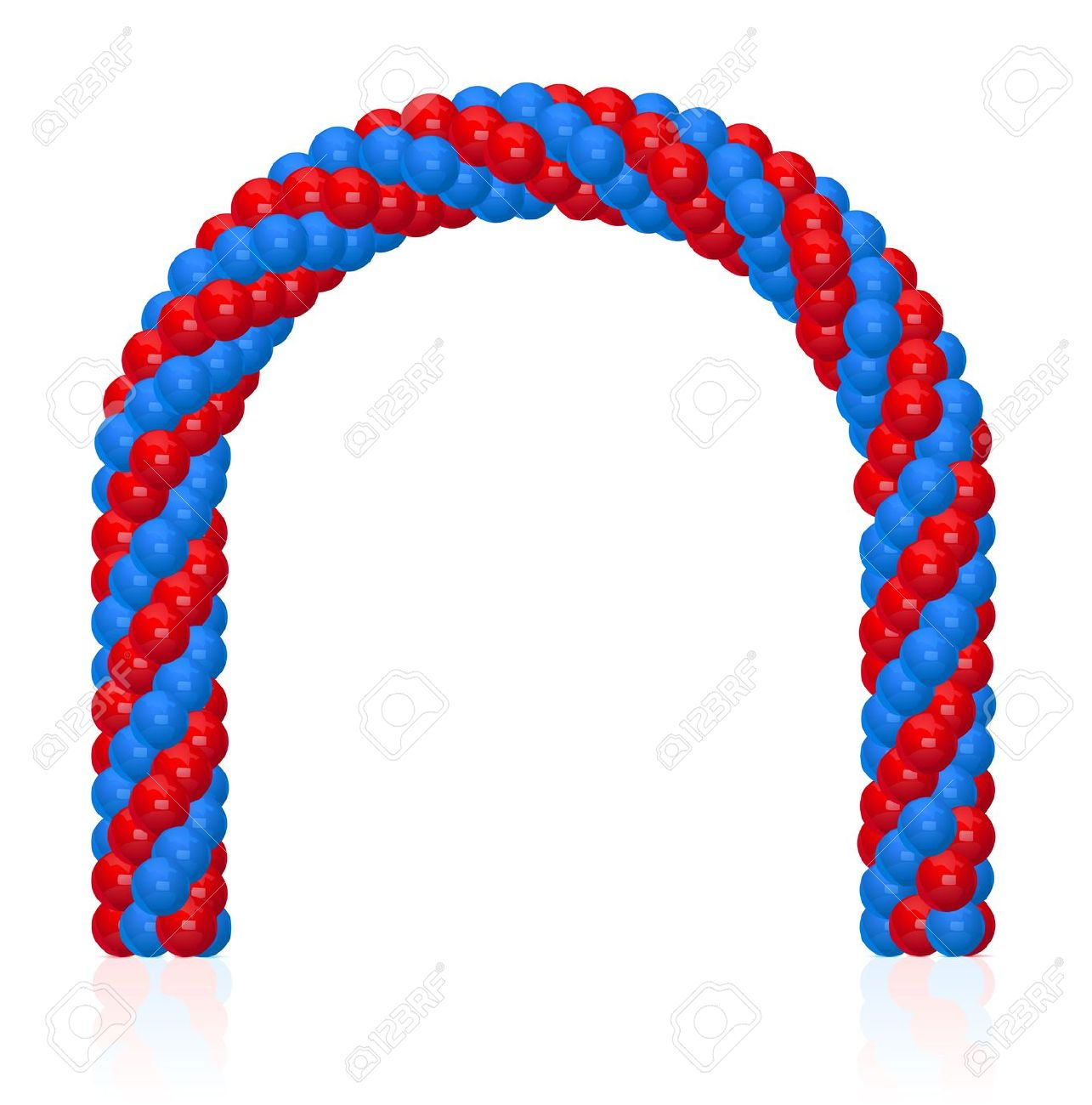 Gate clipart rope Balloon Arch (6318) Clipartwork Free