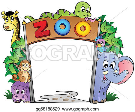 Pathway clipart zoo Free Art Zoo various