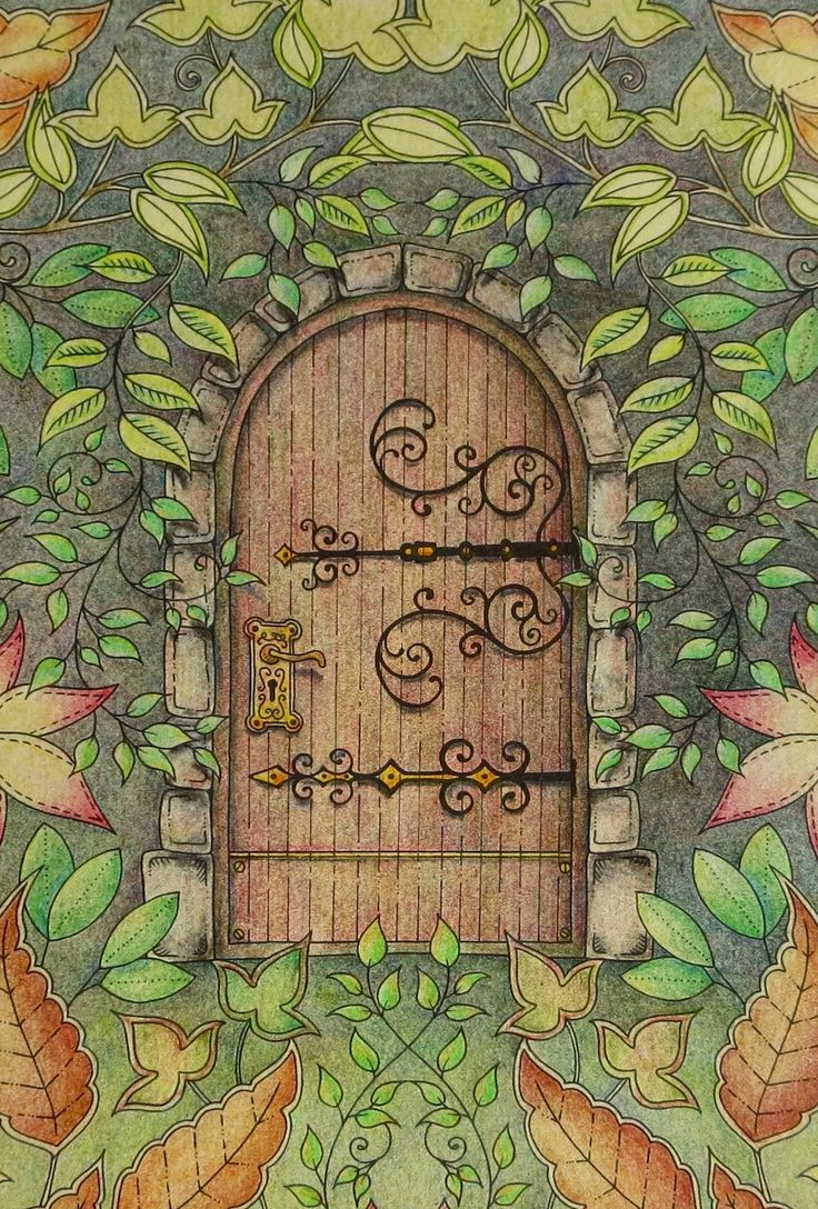 Gate clipart secret garden Door Pinterest Secret Basford 25+